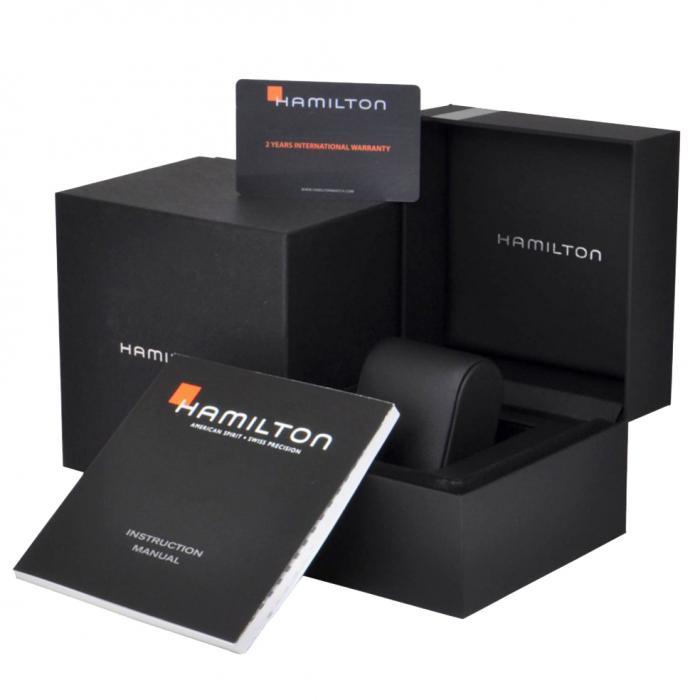HAMILTON Khaki Field Titanium Automatic Black Rubber Strap