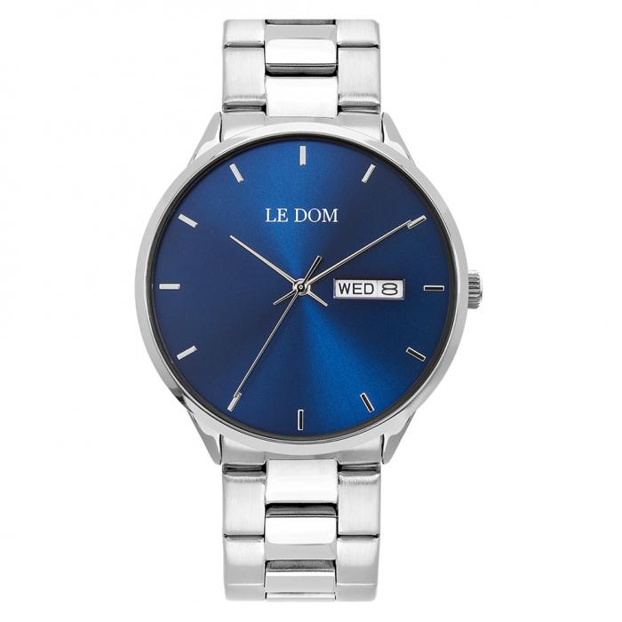 SKU-44947 / LE DOM Maxim Silver Stainless Steel Bracelet