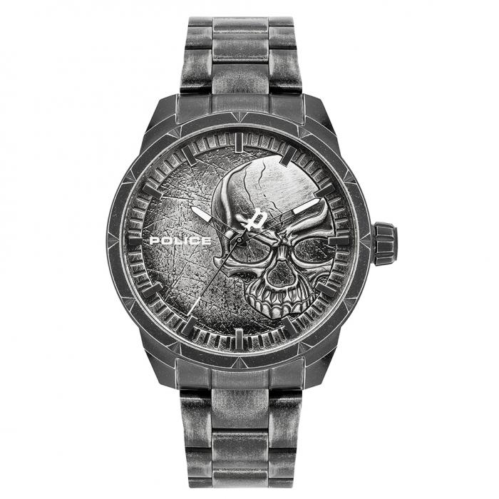 SKU-44944 / POLICE Neist Grey Stainless Steel Bracelet