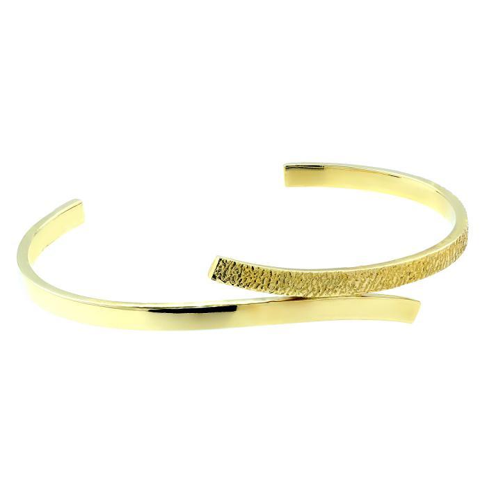 SKU-45889 / Βραχιόλι Χειροπέδα Χειροποίητο Χρυσός Κ14