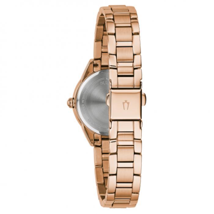 SKU-45962 / BULOVA Diamonds Rose Gold Stainless Steel Bracelet