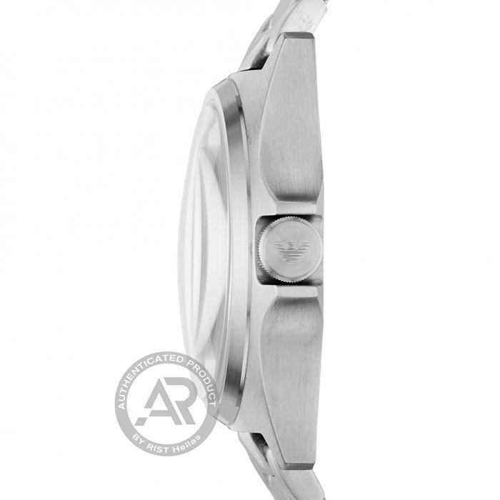 SKU-45090 / EMPORIO ARΜΑΝΙ Nicola Silver Stainless Steel Bracelet