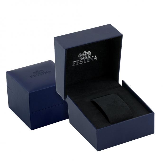 SKU-45777 / FESTINA Chronograph Black Stainless Steel Bracelet