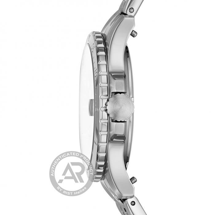 SKU-45154 / FOSSIL FB-01 Silver Stainless Steel Bracelet
