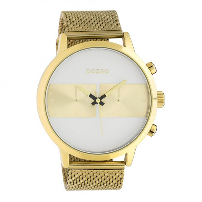 SKU-45675 / OOZOO Timepieces Summer Gold Metallic Bracelet