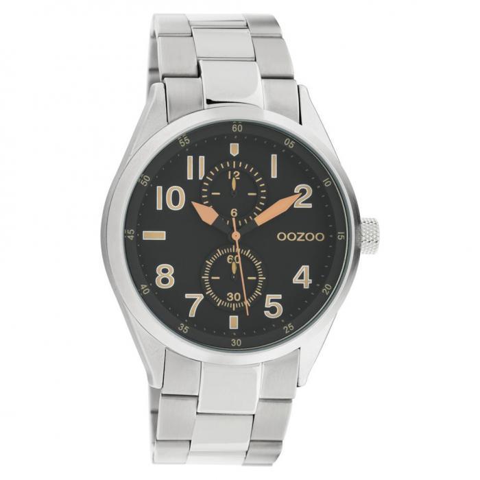 SKU-45674 / OOZOO Timepieces Summer Silver Metallic Bracelet