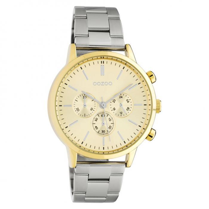 SKU-45684 / OOZOO Timepieces Summer Silver Metallic Bracelet