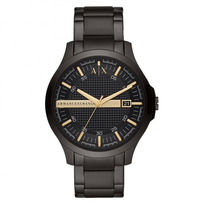 SKU-46133 / ARMANI EXCHANGE Hampton Black Stainless Steel Bracelet