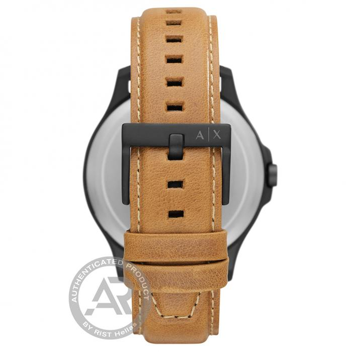 SKU-46132 / ARMANI EXCHANGE Hampton Brown Leather Strap