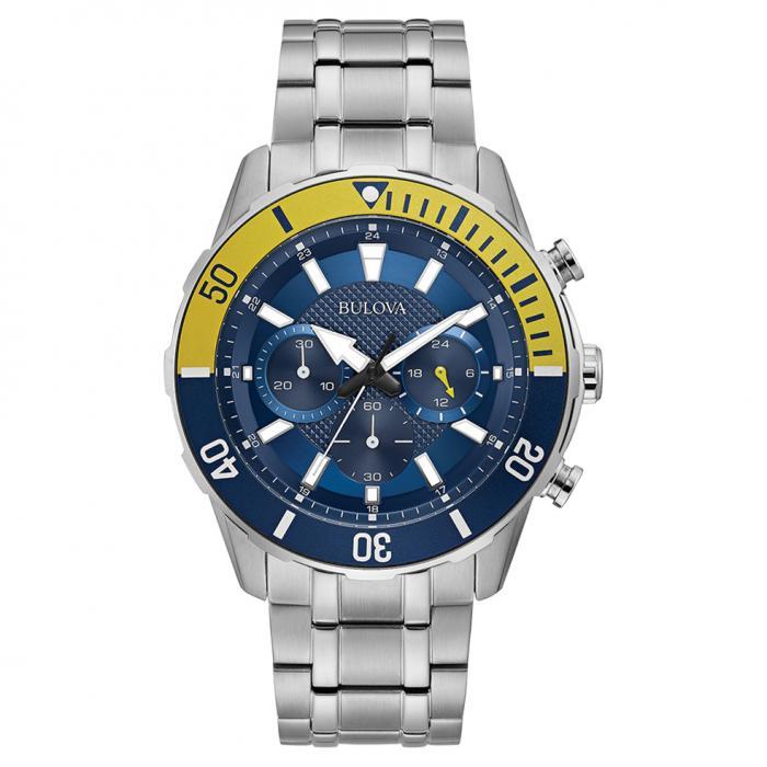 SKU-46120 / BULOVA Sport Chronograph Stainless Steel Bracelet
