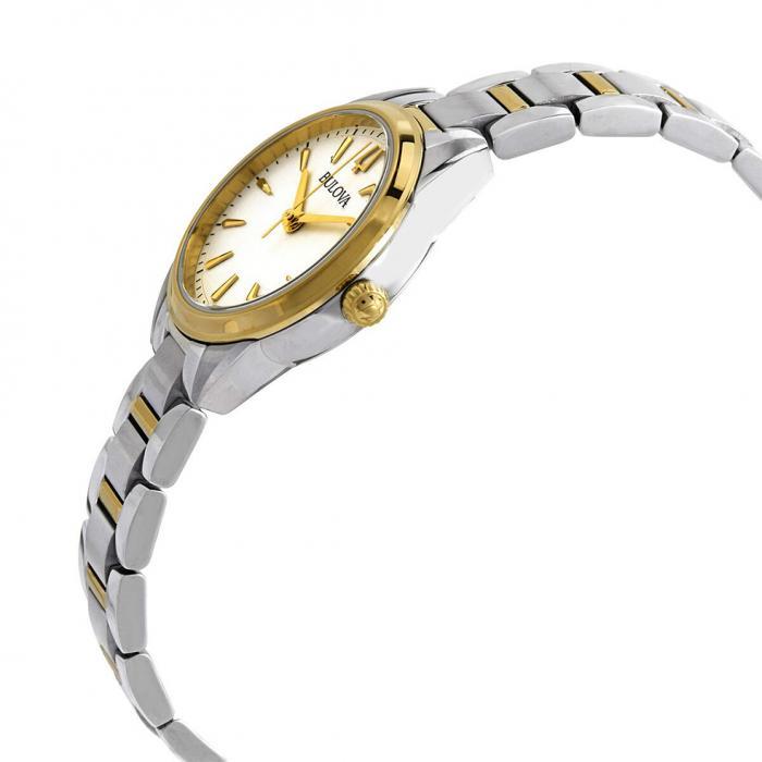 SKU-46129 / BULOVA Two Tone Stainless Steel Bracelet