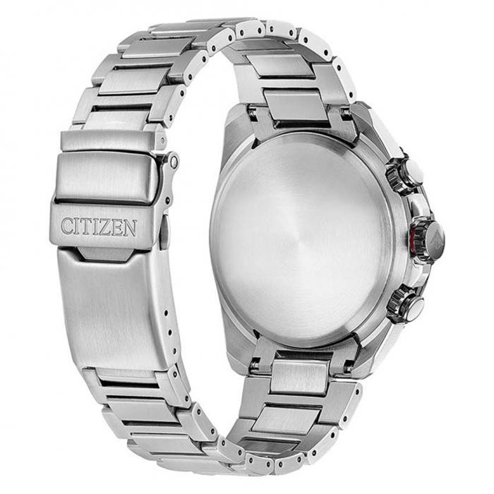 SKU-46892 / CITIZEN Promaster Eco-Drive Chronograph Silver Stainless Steel Bracelet