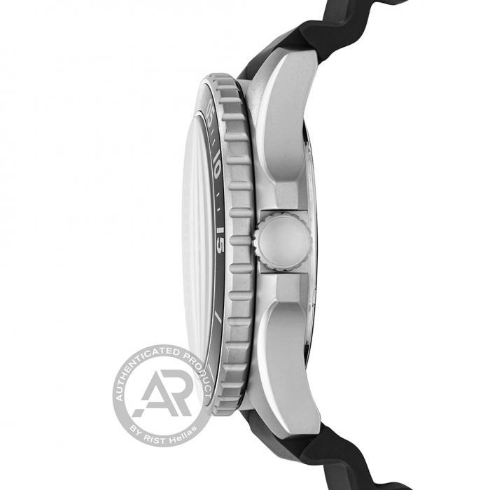 SKU-46162 / FOSSIL FB-02 Black Rubber Strap