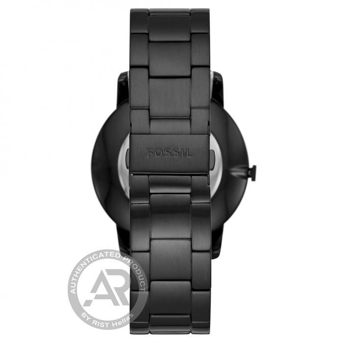 SKU-46163 / FOSSIL Minimalist Black Stainless Steel Bracelet