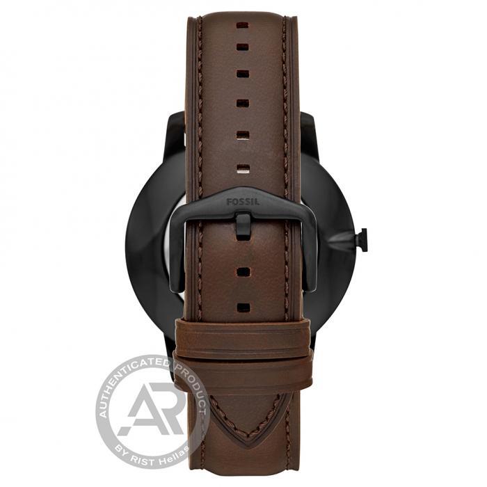 SKU-46154 / FOSSIL Minimalist Brown Leather Strap