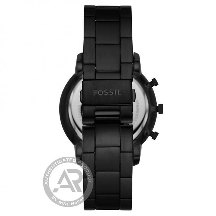 SKU-46164 / FOSSIL Neutra Chronograph Black Stainless Steel Bracelet