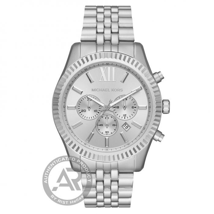 SKU-46221 / MICHAEL KORS Lexington Chronograph Aluminium Bracelet