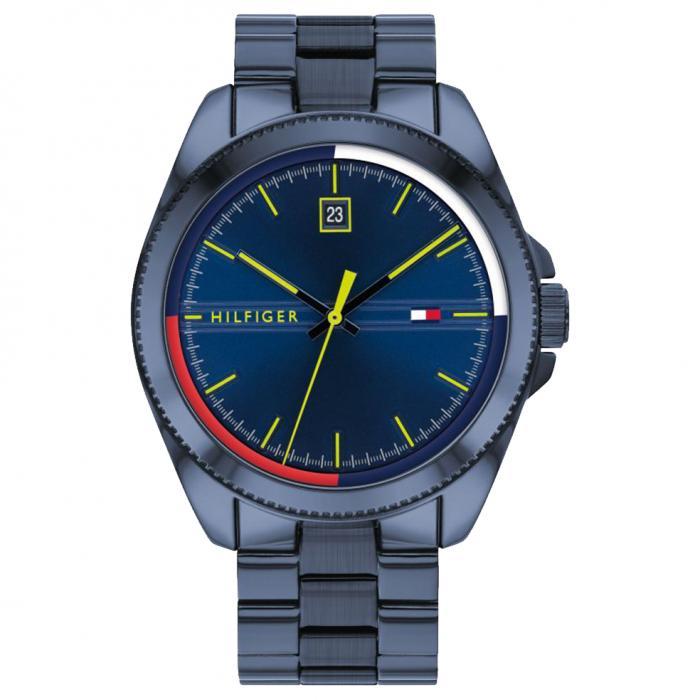 SKU-46606 / TOMMY HILFIGER Blue Stainless Steel Bracelet