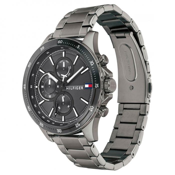 SKU-46605 / TOMMY HILFIGER Grey Stainless Steel Bracelet
