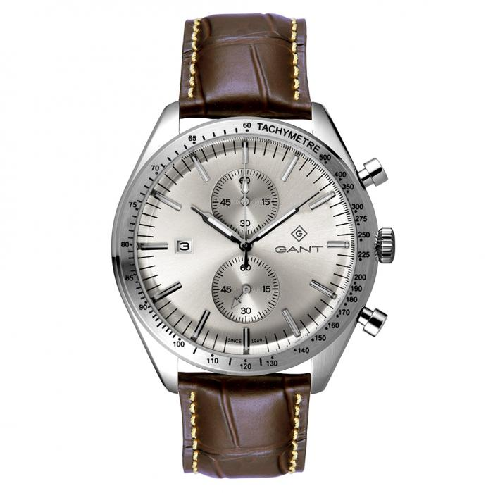 SKU-47613 / GANT Northampton Chronograph Brown Leather Strap