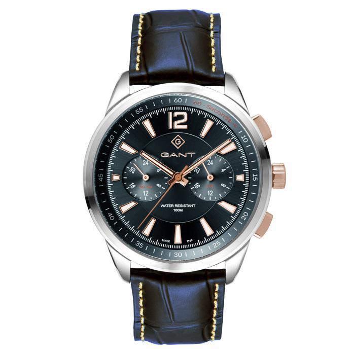 SKU-47615 / GANT Walworth Blue Leather Strap