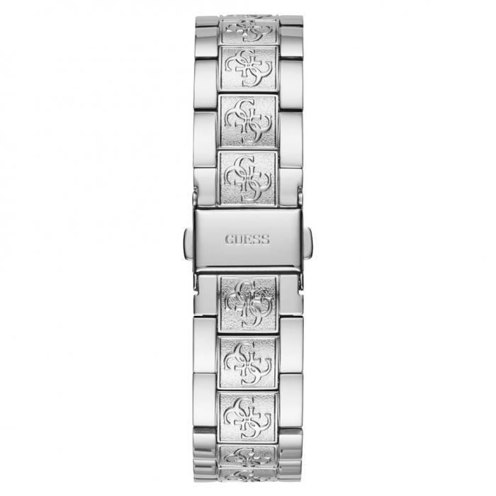 SKU-47494 / GUESS Crystal Silver Stainless Steel Bracelet