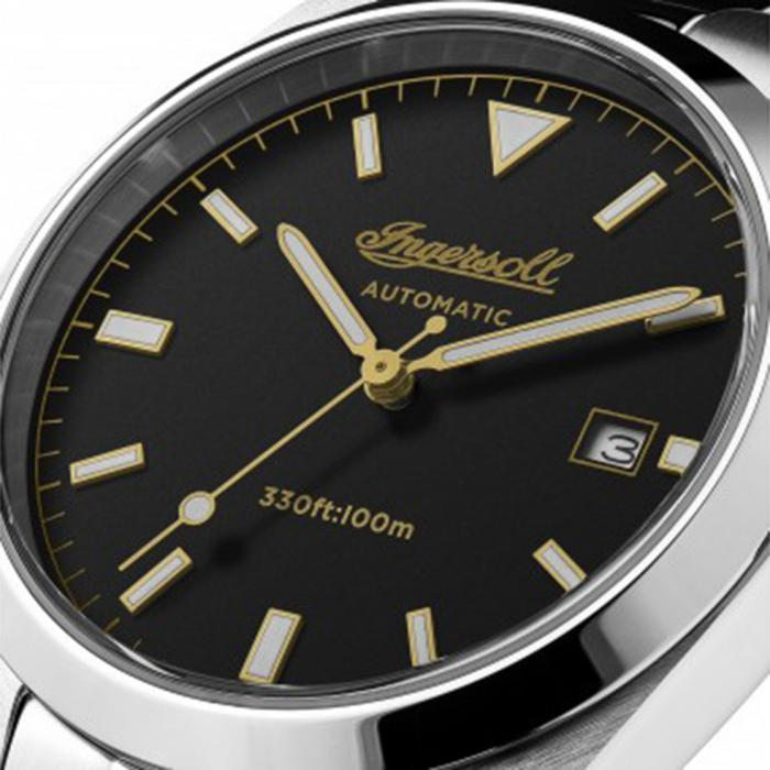 INGERSOLL Reliance Automatic Stainless Steel Bracelet
