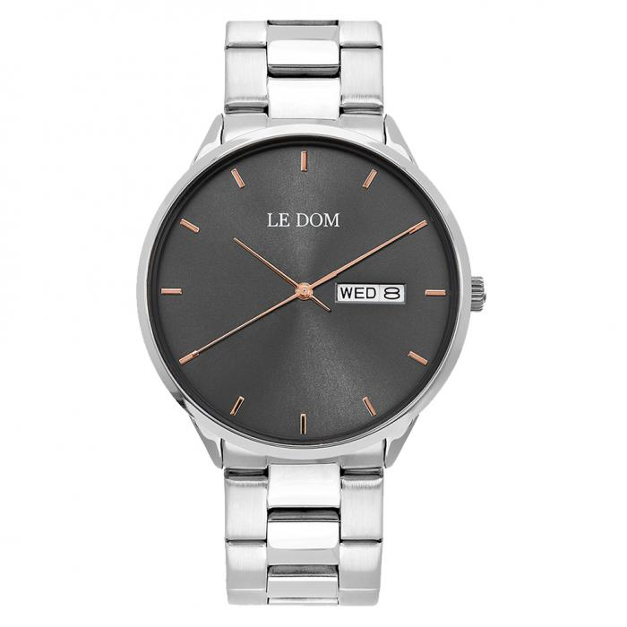 SKU-47441 / LE DOM Maxim Silver Stainless Steel Bracelet