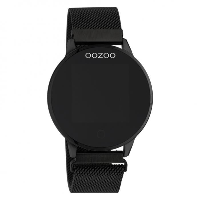 OOZOO Smartwatch Black Metal Bracelet