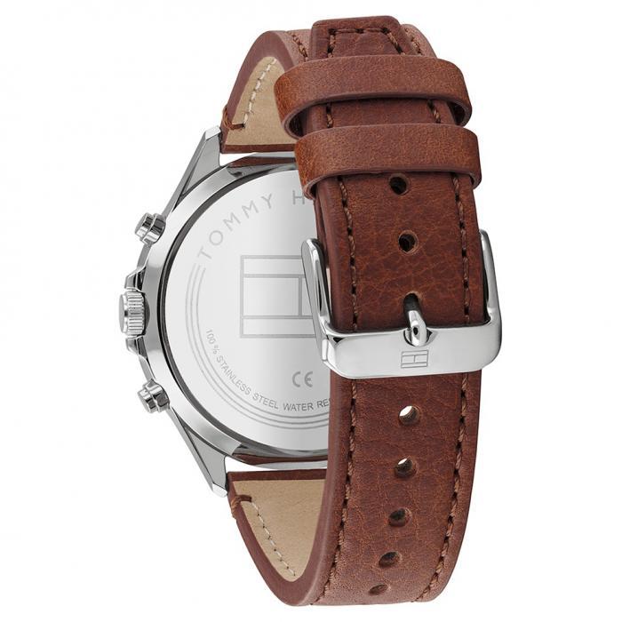 SKU-47743 / TOMMY HILFIGER West Brown Leather Strap