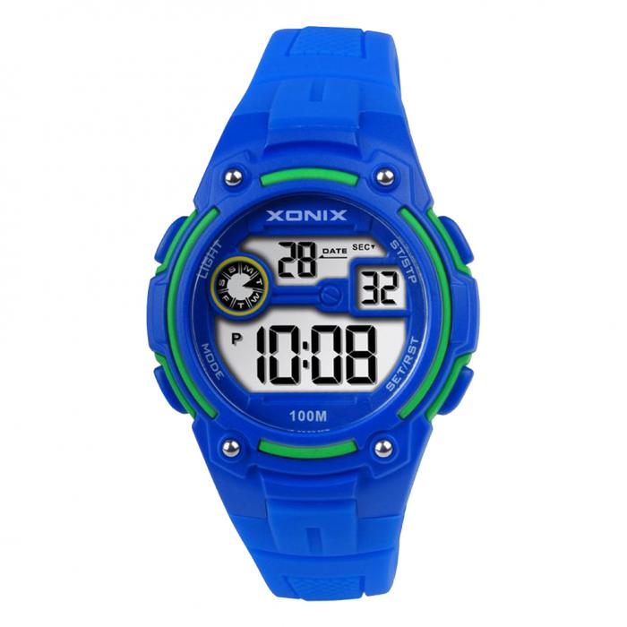 SKU-47684 / XONIX Digital Blue Silicone Strap