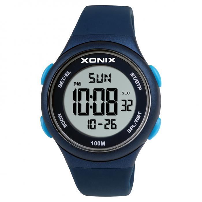 SKU-47683 / XONIX Digital Blue Silicone Strap