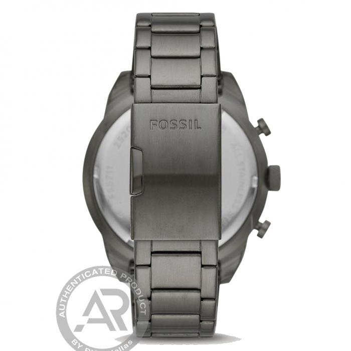 SKU-47082 / FOSSIL Bronson Chronograph Grey Stainless Steel Bracelet
