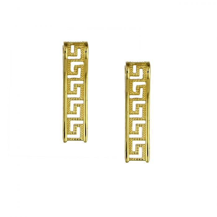 SKU-47283 / Σκουλαρίκια Κρεμαστά Χρυσός Κ9