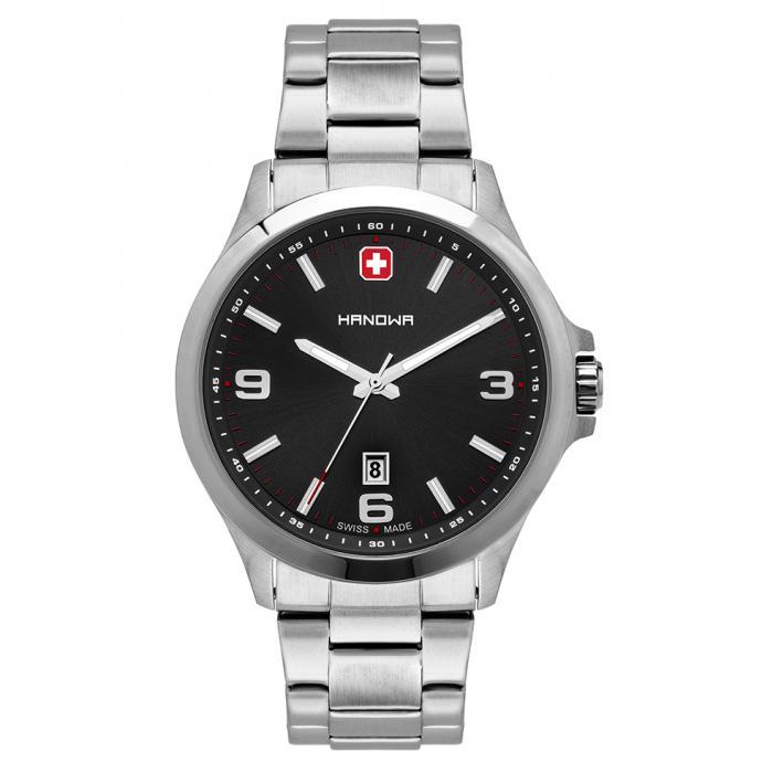 SKU-48397 / HANOWA Marvin Silver Stainless Steel Bracelet
