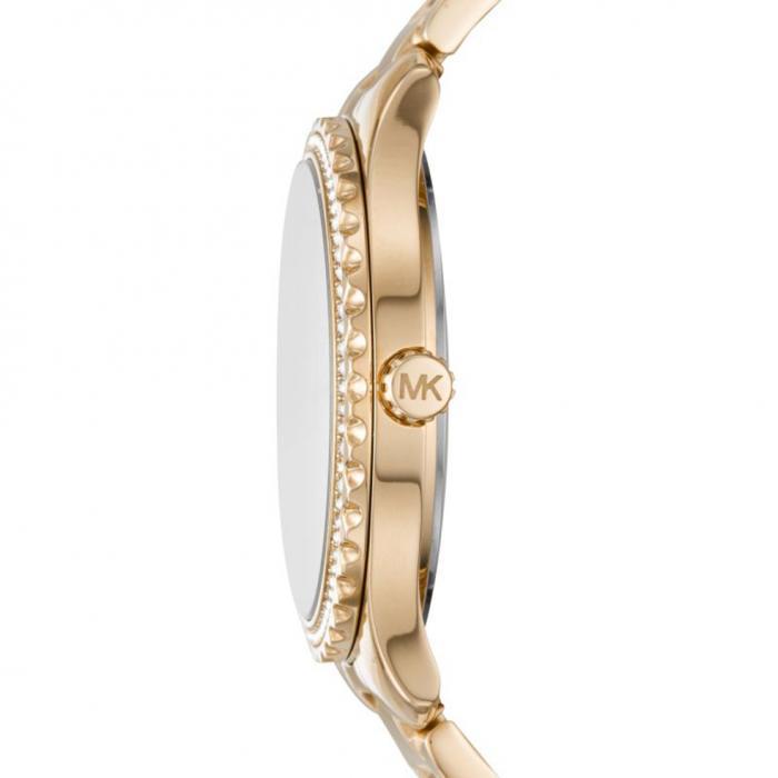 SKU-48065 / MICHAEL KORS Layton Crystals Gold Stainless Steel Bracelet