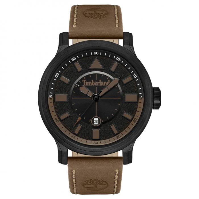 SKU-48034 / TIMBERLAND Woodmont Brown Leather Strap