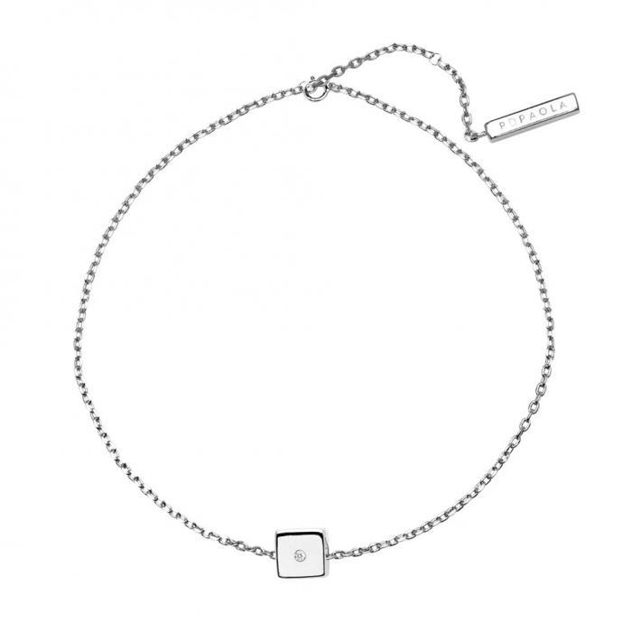 SKU-48746 / Βραχιόλι PDPAOLA Dice Silver Ασήμι 925° με Ζιργκόν