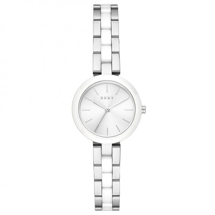 DKNY City Link Two Tone Stainless Steel Bracelet