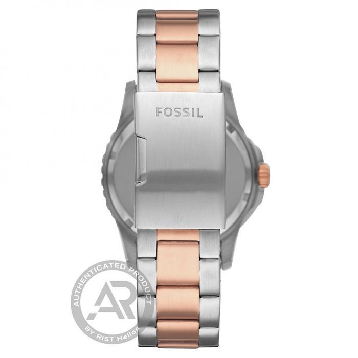 SKU-48256 / FOSSIL FB-01 Two Tone Stainless Steel Bracelet