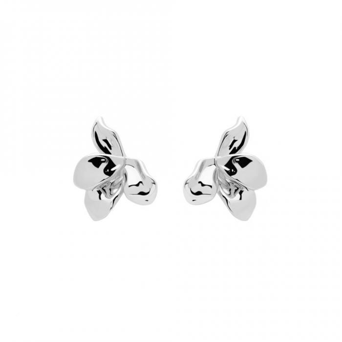 SKU-48840 / Σκουλαρίκια Λουλούδι PDPAOLA Narcise Silver Ασήμι 925°