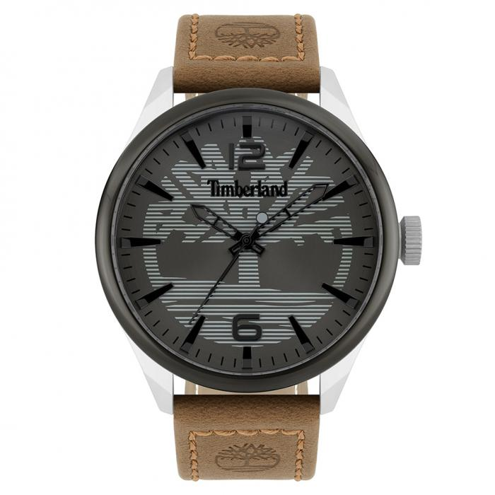 SKU-48639 / TIMBERLAND Ackley Brown Leather Strap