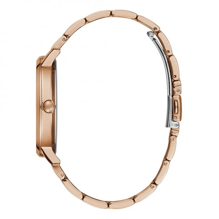 GUESS Crystals Rose Gold Stainless Steel Bracelet