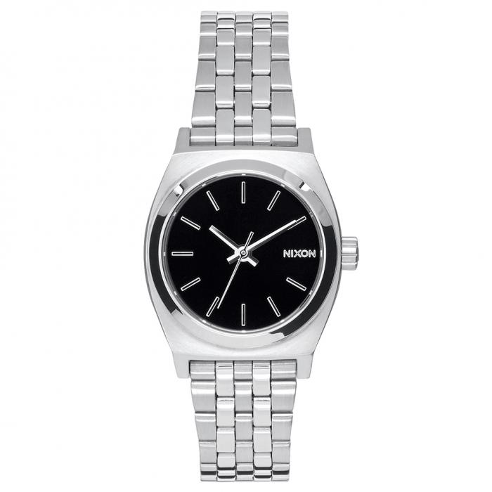 SKU-49641 / NIXON The Small Time Teller Silver Stainless Steel Bracelet