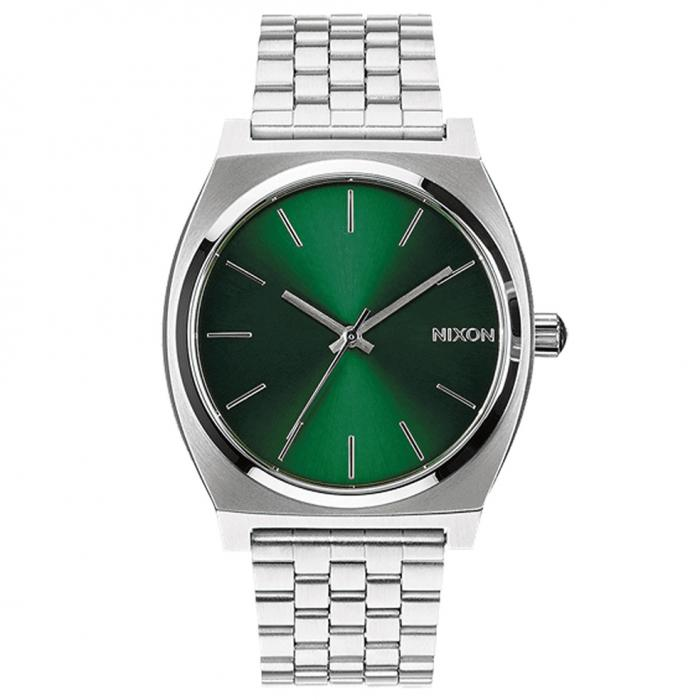 SKU-49642 / NIXON Time Teller Silver Stainless Steel Bracelet
