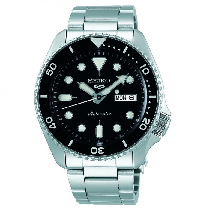 SKU-49802 / SEIKO 5 Sports Automatic Silver Stainless Steel Bracelet