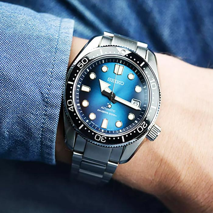 SEIKO Prospex Divers Automatic Silver Stainless Steel Bracelet