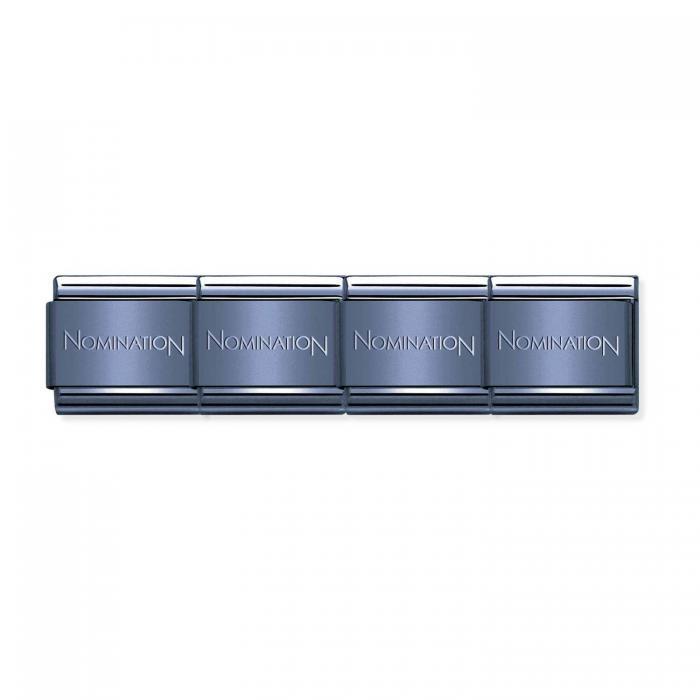 SKU-50707 / Βραχιόλι Nomination Composable Classic Unisex Blue