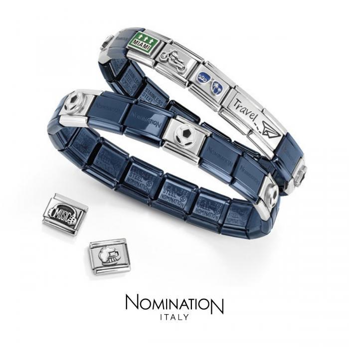 Βραχιόλι Nomination Composable Classic Unisex Blue