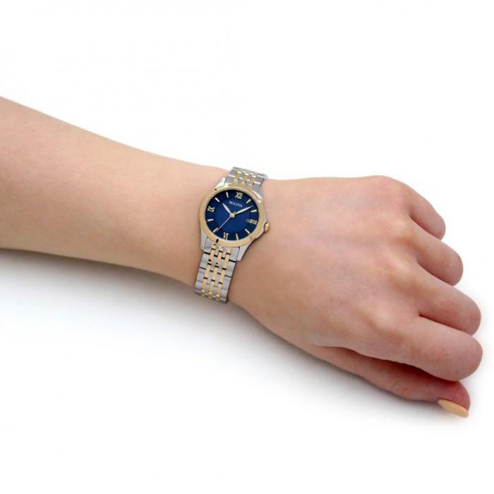 SKU-50542 / BULOVA Classic Two Tone Stainless Steel Bracelet